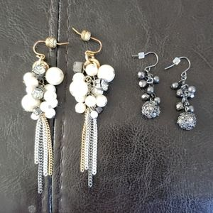 Kenneth cole new York set of 2 shaky drop earrings